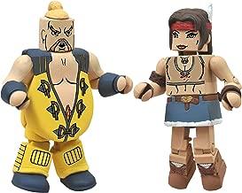 Diamond Select Toys Street Fighter X Tekken Minimates Series 2: Rufus vs Julia, 2-Pack