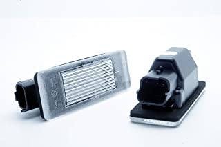 L/ámpara led para matr/ícula 2 unidades Nslumo