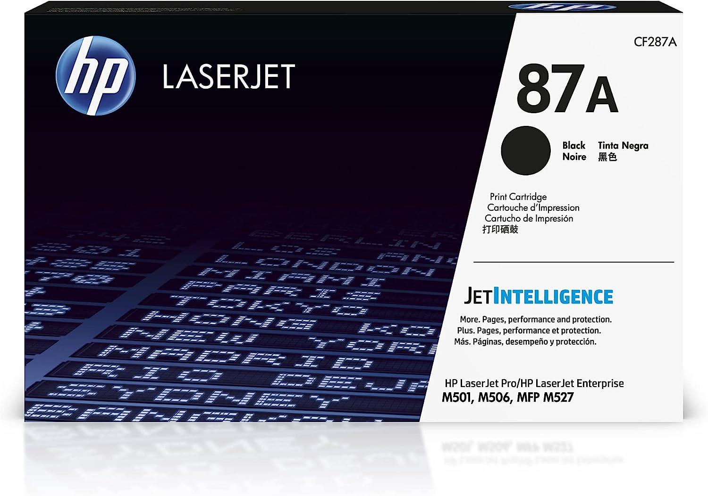 HP 87A   CF287A   Toner-Cartridge   Black   Works with HP LaserJet Enterprise M527, M506, M501