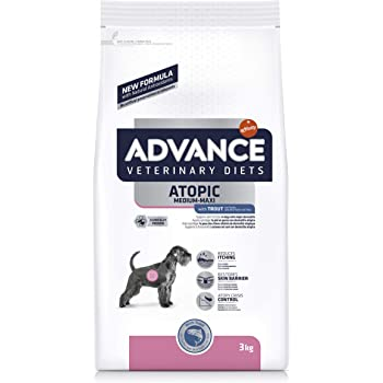 Advance Veterinary Diets Atopic Pienso para Perros - 3000 gr: Amazon.es: Productos para mascotas