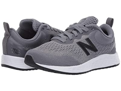 New Balance Kids Fresh Foam Arishi v3 (Little Kid/Big Kid) (Gunmetal/Black) Boys Shoes