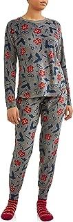 Women's Harry Potter Super Minky Fleece Pajamas with Matching Socks Gift Set