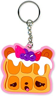 H.E.R Accessories Fun Colorful Keychain for Girls (Num Noms Blueberry Scented)