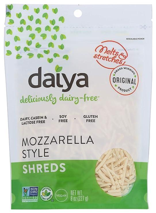 Daiya Dairy-Free Cheese Shreds, Mozzarella, 8 oz