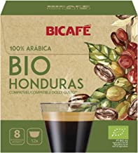 BICAFE - DOLCE GUSTO Compatible Pods/Capsules - ORGANIC HONDURAS = 12 count (pack of 4 = 48 count)