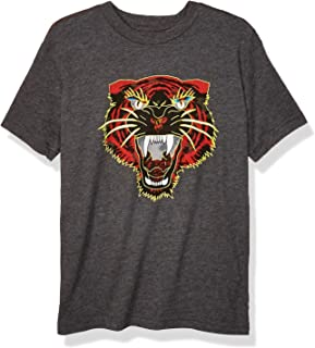 RVCA Boys B409WRNL Night Lurker Short Sleeve Crew Neck T-Shirt Short Sleeve T-Shirt