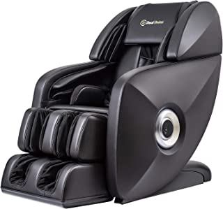 Real Relax 2019 Premium SL-Track 3D Deep Zero Gravity Massage Chair Recliner with Speakers, Black