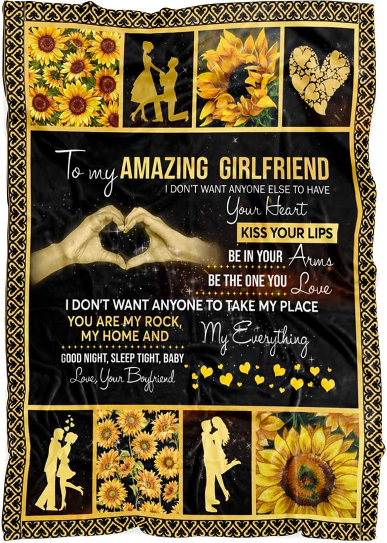 To My Girlfriend Blanket Colorado Springs Mall - Max 52% OFF You Love Christ Gorgeous I