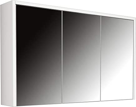 Bravo Base Cabinet with Mirror - 100 cm, White - 60 cm x 100 cm x 16 cm