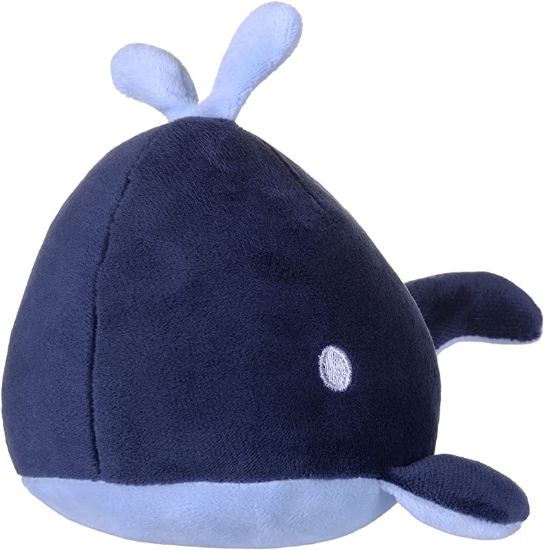 Funif Cute Plush Decorative Throw Pillow For Home Office Sofa Stuffed Animal Toys Back Cushion Creative Doll For Kids Blue Whale 7 8