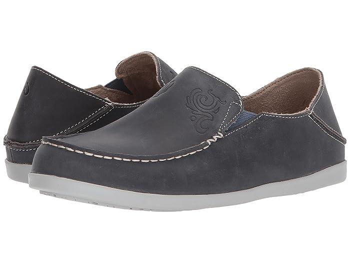 Nohea Nubuck  Shoes (Vintage Indigo/Pale Grey) Women's Slip on  Shoes