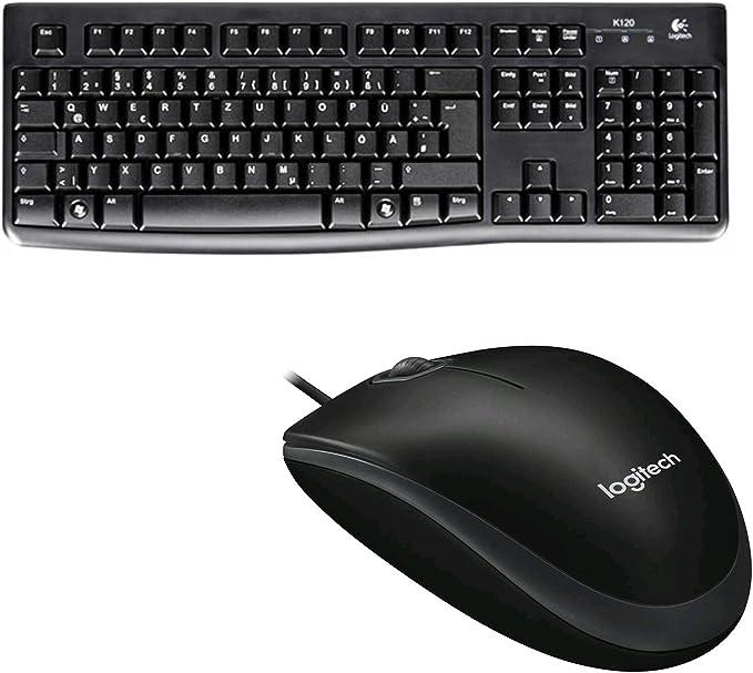 Logitech K120 Business Keyboard Qwertz German Layout Garten