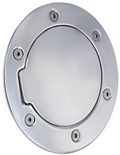 All Sales 6041P Polished Billet Aluminum Fuel Door