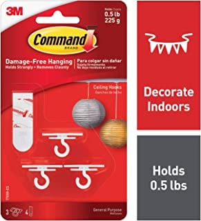 Best ceiling command hooks Reviews
