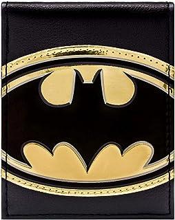 DC Comics Batman Or Brillant Symbole Noir Portefeuille