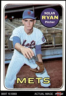 1969 Topps # 533 Nolan Ryan New York Mets (Baseball Card) Dean's Cards 5 - EX Mets