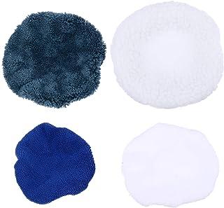 FAVOMOTO Almofadas de polimento de microfibra para polimento de carro para polidor de carro 16 peças 14-15 polegadas