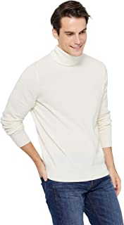 Men's Classic Turtleneck Sweater 100% Pure Cashmere Long Sleeve Pullover