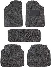 Sepia Universal Grass Mat (Set of 5, Grey & Black)