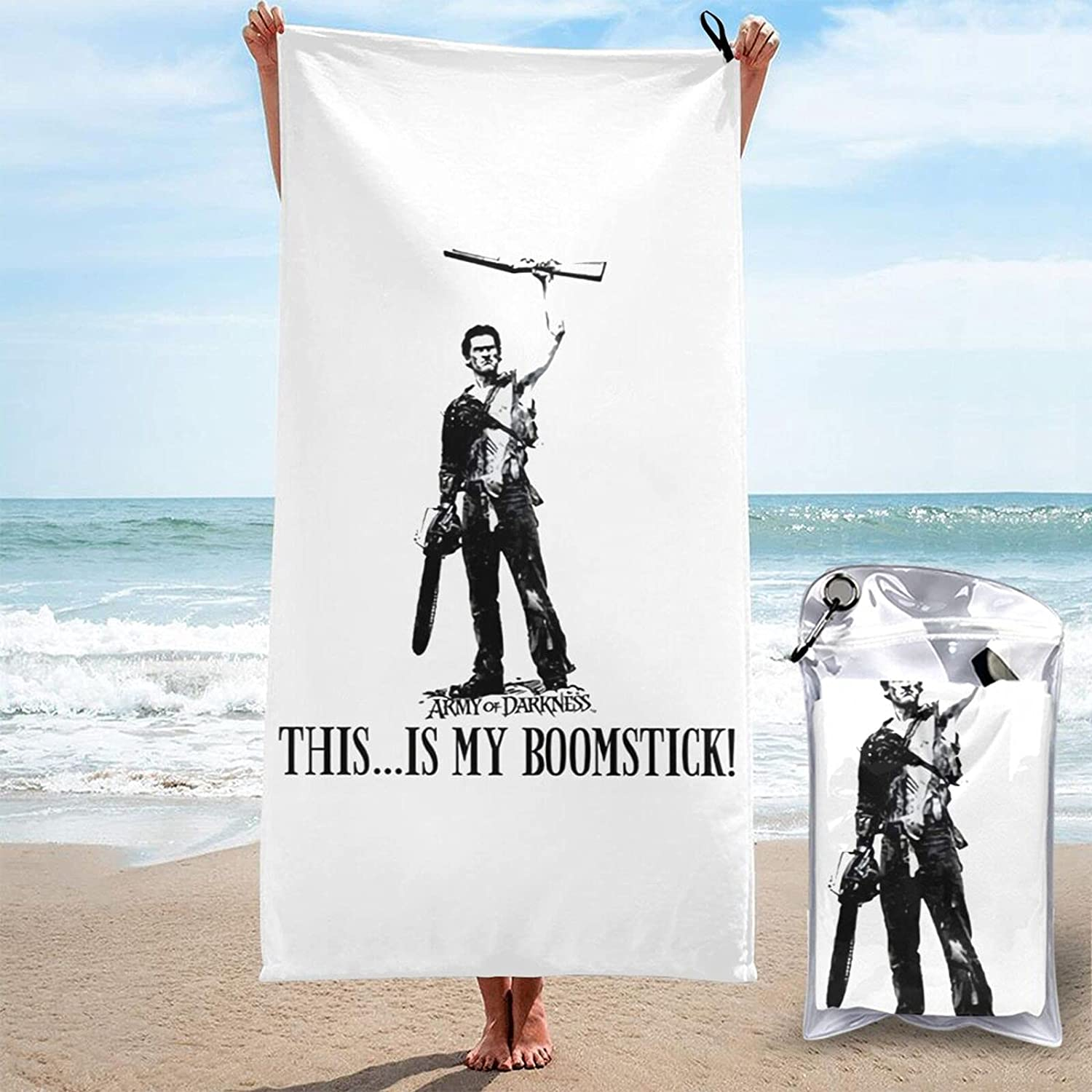 Army of New Shipping Free Shipping Save money Darkness 3D Printed Large Towels are Qu Beach Sand-Free
