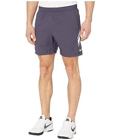 Nike NikeCourt Dry Shorts 7 (Gridiron/White/White) Men