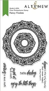 Altenew Clear Cling Stamp Set - Fancy Frames