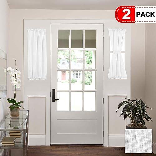 Front Door Window Curtains: Amazon com