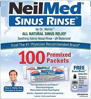 Neilmed Sinus Rinse Refill Packets, 100 Ct