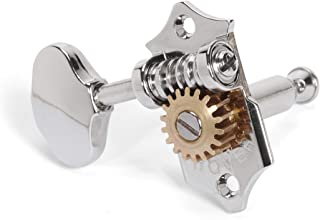 Grover 18:1 Sta-Tite 3+3 Tuning Machines for Solid Peghead, Nickel (V97-18NA)