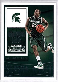 2015-16 Contenders Draft Picks Season Ticket Basketball #30 Draymond Green Michigan State Spartans Official NCAA Trading Card made by Panini