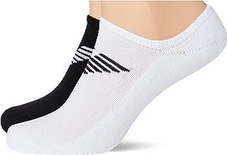 Emporio Armani Men's Invisible Socks Set of 2 Sporty