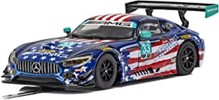 Scalextric Mercedes AMG GT3 Riley Motorsports American Flag Livery 1:32 Slot Race Car C4023
