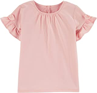 Girls' Toddler Ruffle Knit Top
