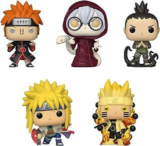 Funko Pop! Naruto Juego de 5: Naruto 6Path Sage, Minato Namikaze, Kabuto Yakushi, Shikamaru Nara y Dolor