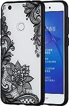Huawei Honor 9 Lite Cover Custodia Protezione di Carols Silicone Trasparente Sottile Case Gatto bianco Gomma Morbido Cellulare Ultra-Slim Protettiva Bumper Guscio per Huawei Honor 9 Lite