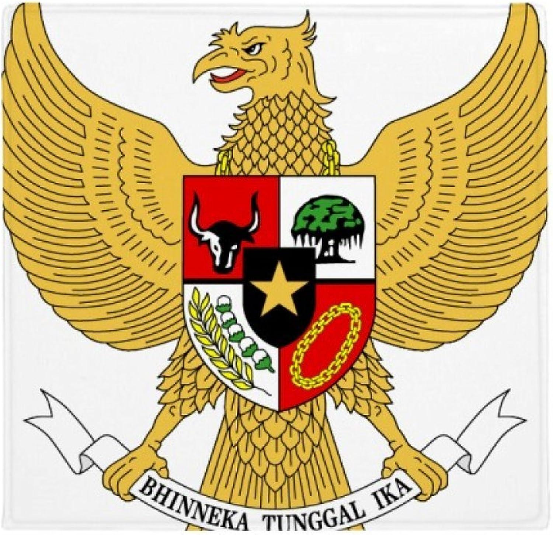 DIYthinker Indonesia Indonesia Indonesia National Emblem Country