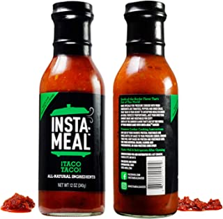Insta-Meal Instant Pot Compatible Sauce, Taco Taco Mexican Cooking Starter - Fast & Easy Recipes for Beginners & Beyond | Fresh, Healthy, No Prep, One-Pot Beef, Chicken & Fish Pressure Cooker Meals
