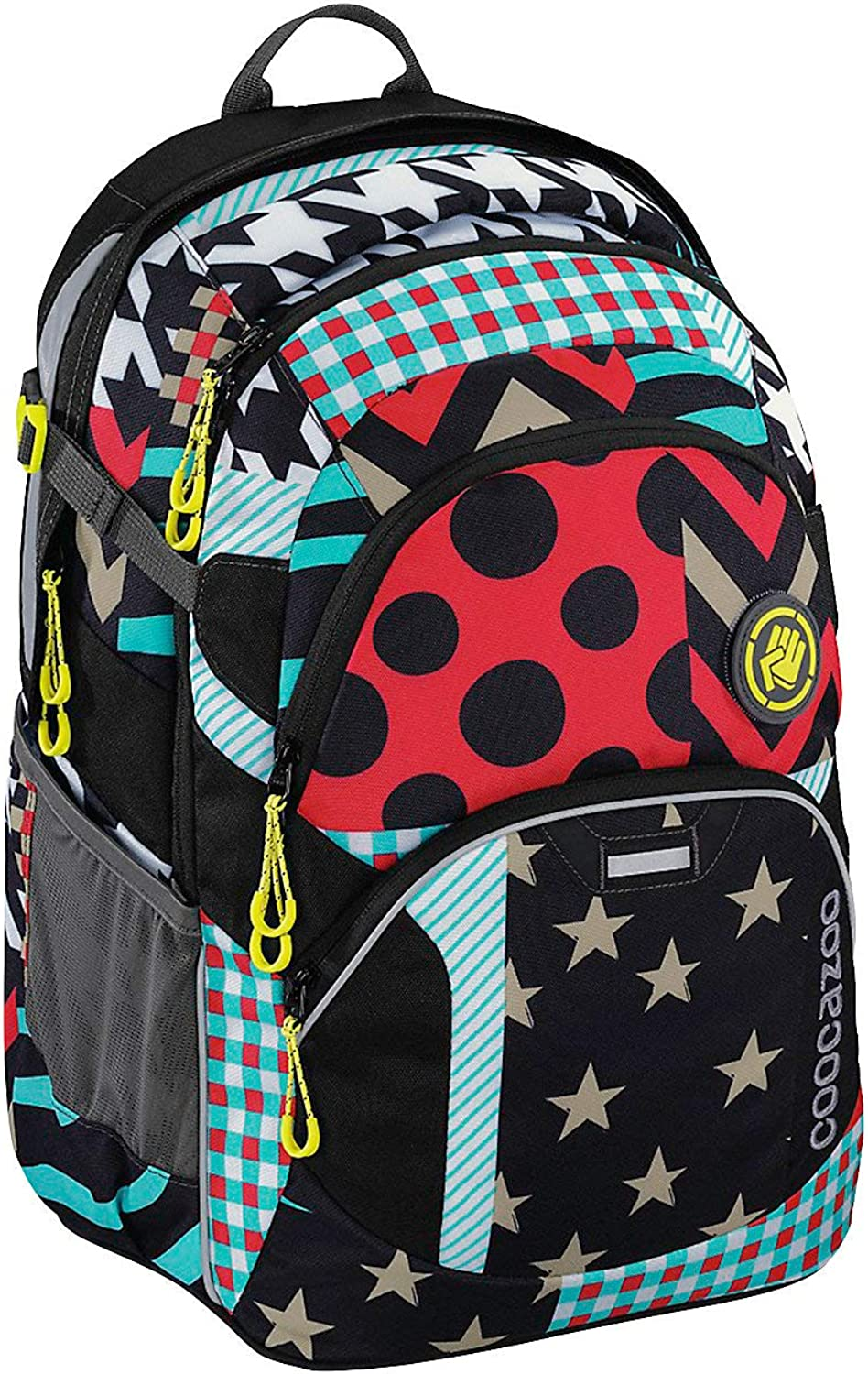 Coocazoo School Backpack JobJobber 3 Match Patch Polyester 30 l