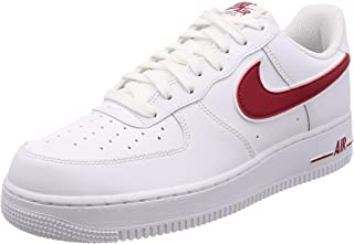 red white air force ones
