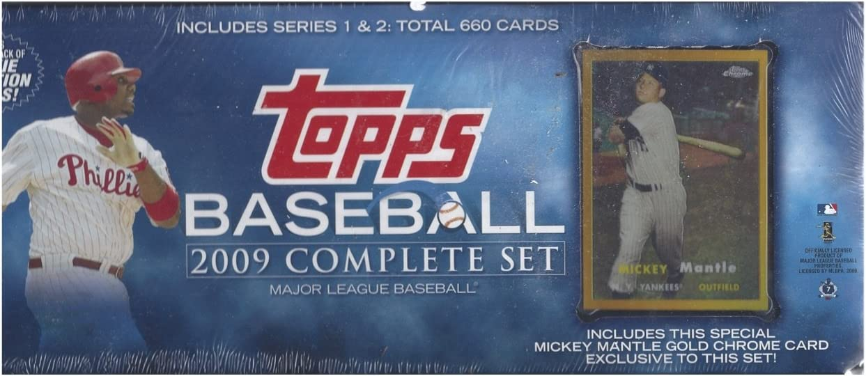 2009 TOPPS BASEBALL COMPLETE Direct stock discount Elegant FACTORY SEALED 660 SET 1 WITH CARDS