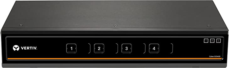 Vertiv Cybex Secure 4K UHD KVM 4-Port DisplayPort DH NIAP EAL4+ TAA (SC940D-001)