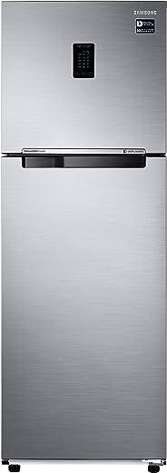 Samsung 345L 3 Star Inverter Frost Free Double Door Refrigerator (RT37T4513S8/HL, Elegant Inox, Convertible) 1