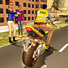 Sports Bike Taxi Sim 3D - Free Taxi Driving Games Features: 🏍️ Exciting taxi driving missions and level progression 🏍️ Smooth controls for challenging gameplay 🏍️ Realistic vehicle physics, high quality graphics 🏍️ Versatile camera featuring various ...
