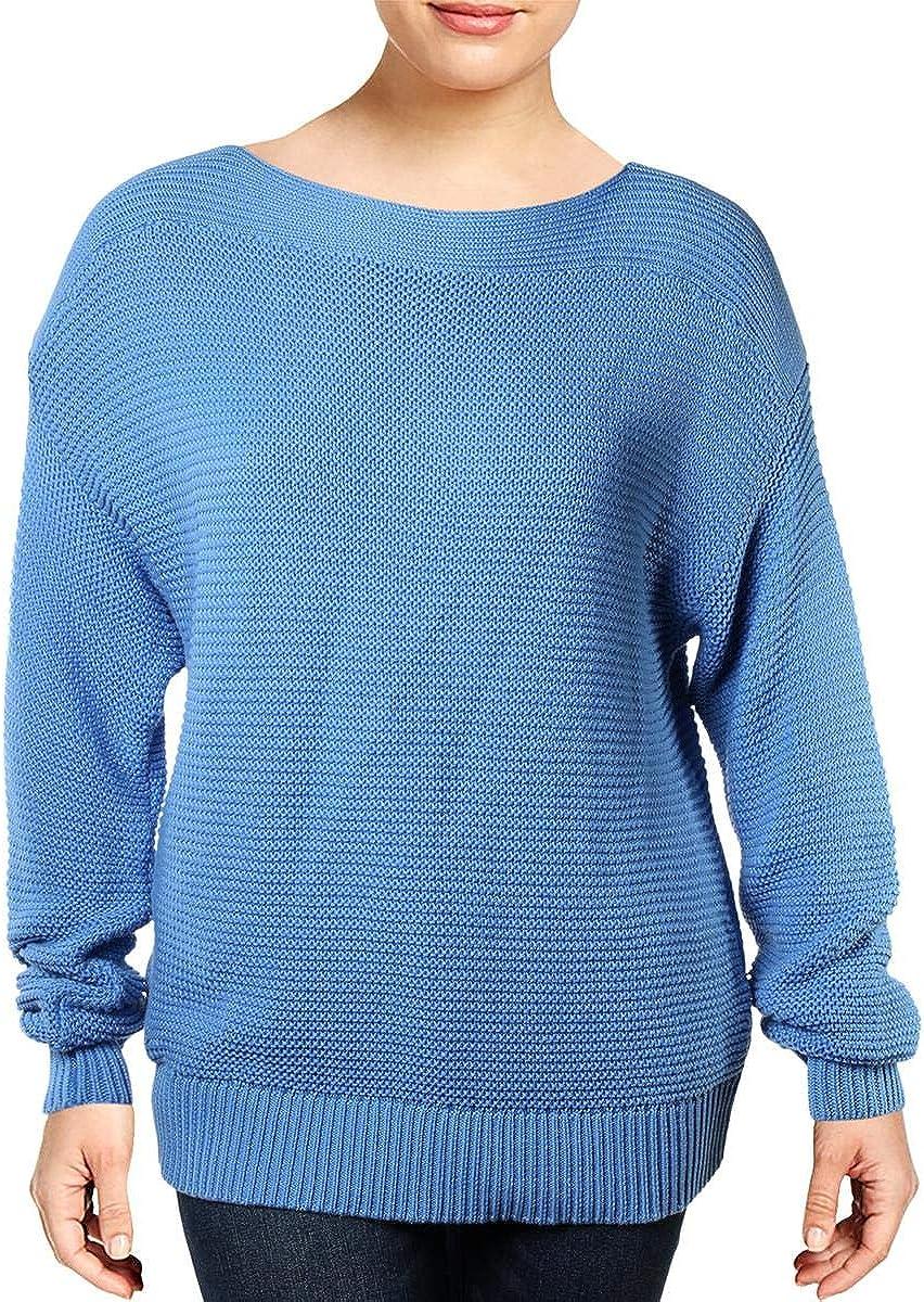 Ralph Lauren Womens Sydnee Pullover Sweater, Blue, Medium