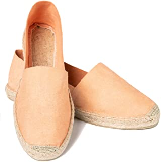cedb3d9c74514f ESPADELLE Espadrilles Slip-on Classiques pour Femme en Coton avec Sac en  Tissu, 36