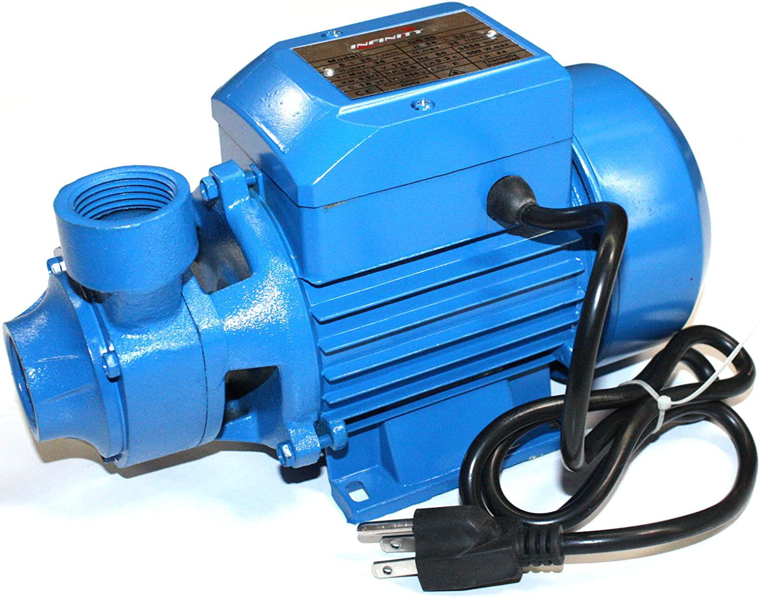 Amazon.com : 1/2HP ELECTRIC WATER PUMP INDUSTRIAL POND POOL FARM NEW Pumps Plumbing Home Tool : Patio, Lawn & Garden