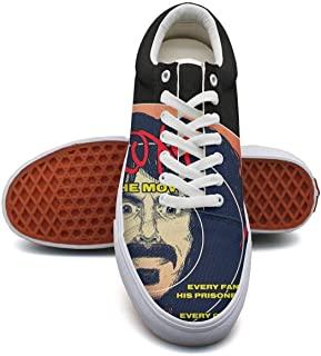 HKCSI Men's Casual Low-Top Classic Canvas Skate Shoes Lace up Sneakers