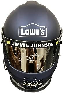 Jimmie Johnson Lowes (7x Champion) Signed Full Size Helmet - JSA Certified - Autographed NASCAR Helmets