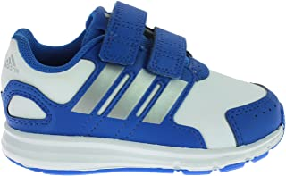 adidas LK Sport CF I Infant/Baby Boys Trainers/Shoes - White Blue