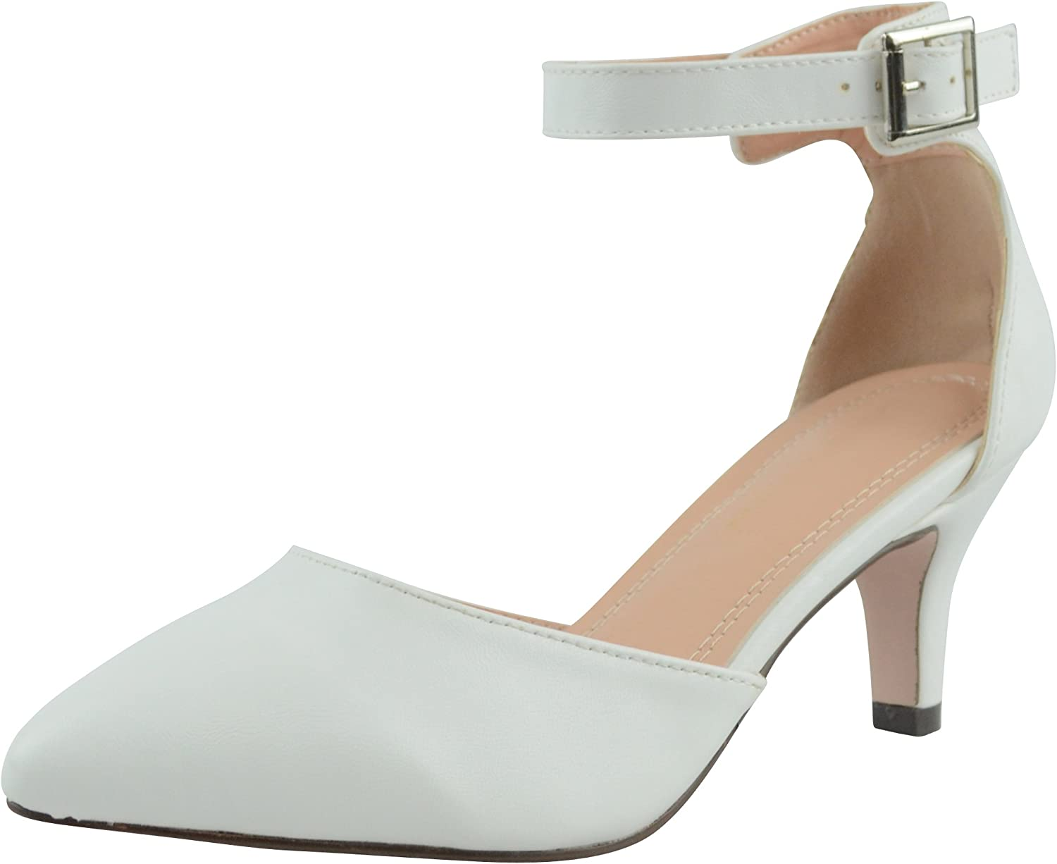 Cambridge Ranking TOP7 Select Women's Cheap Closed Pointed Toe Buckled Ankl D'Orsay